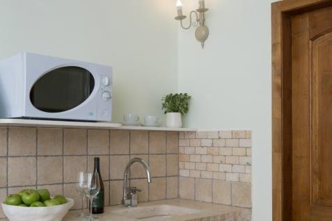 Basalt Cabin - kitchen sink