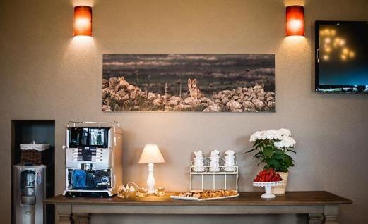 cofee and tea area