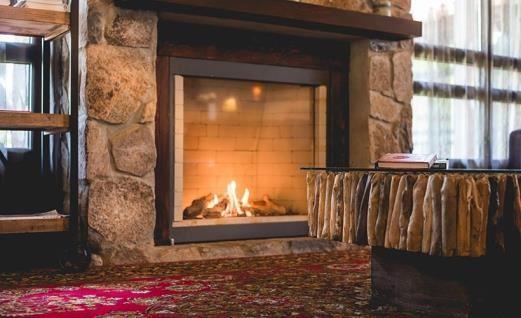 Merom Golan indoor fireplace