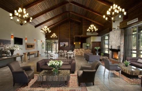 Merom Golan spacious lobby